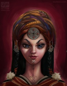berber sharp woman