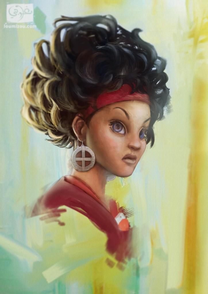 Dihya portrait